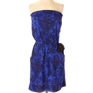 Urban Outfitters blue & black tie dye dress